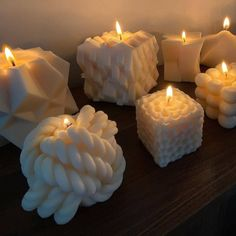 Candle Sculpture, Candle Art, Candels, Pillar Candles, Indie Room Decor, Candle Packaging, Boho Room, My Room, Birthday Candles