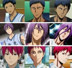 I just can't deal with Murasakibara's hair!!! It's horrible!