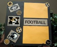 F is for Football by Jenna~H from our Scrapbooking Gallery originally submitted 05/11/12 at 10:27 AM