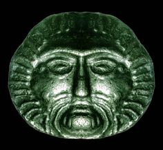 Celtic Coin of Belinus Celtic Sun god