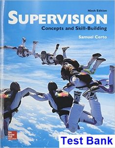 Supply chain logistics management 4th edition bowersox solutions supervision concepts and skill building 9th edition samuel certo test bank test bank fandeluxe Gallery