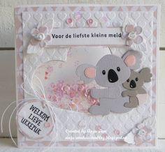Anja Zom kaartenblog: Eline diertjes .....