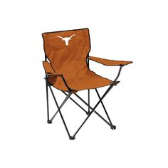 Outdoor Logo Brand Texas Longhorns Portable Folding Chair, Multicolor
