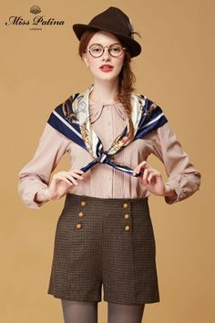 Shandy Shorts in Tweed (40 euros) --- Miss Patina