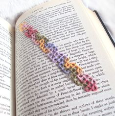 Lace Bookmark  Summer Garden in Tatting  Chiara by TataniaRosa, $8.00
