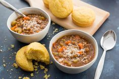 Healthy and hearty lentil soup is a stick-to-your ribs soup that is perfect for a cold winter day. This recipe comes together in no time at all.