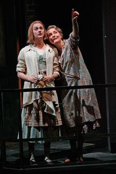 A theatre landmark in a great production! Tennessee Williams' 'The Glass Menagerie' (1943) drew, in part, on memories of his relationship with his mentally unstable sister who underwent a lobotomy in 1945. Stratford Festival, 2006: Seana McKenna as Amanda Wingfield and Sara Topham, as Laura W. Mixed reviews, but loved it. Also seen at Soulpepper, 2011 - great! And at Tarragon, Toronto, 1997, with Martha Henry.