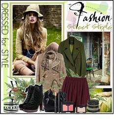 """""""Fall Fashion Street Style"""" by fashiontake-out on Polyvore"""