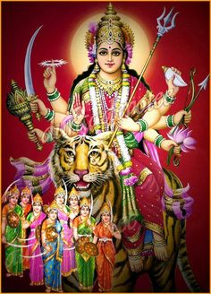 Maa Durga catch 22..must have subtle awarness to reach theses deities and if you do already you dont need them