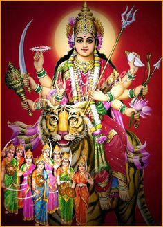 Maa Durga #durga #goddess #deviyogaforwomen deviyogaforwomen.com