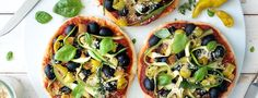 Who needs delivery when this healthy, vegan pizza recipe satisfies a takeout craving in no time? The homemade sauce gets extra zest from sun-dried tomatoes.