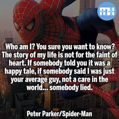 ▲Quotes▲ - Peter from Spider-Man (2002)!