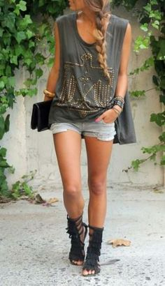 I love this outfit especially the sandals
