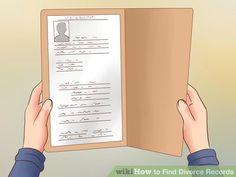 Image titled Find Divorce Records Step 1