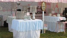 juNxtaposition:   old lampshades as jewelry racks