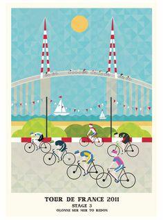 Tour de France Series, by Neil Stevens.