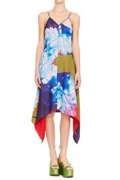 Clover Canyon Slip Dress Butterfly Motif | eBay