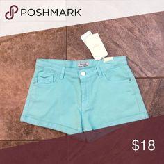 Mayoral shorts Mint colored shorts Mayoral Bottoms Shorts