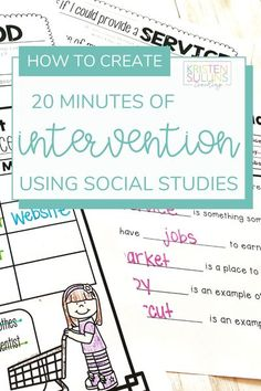 Find out how you can create 20 minutes of intervention time in your classroom with this resource from Kristen Sullins Teaching. See how you can do it with your kindergarten, first or second grade… More