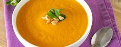 Creamy Thai Carrot and Sweet Potato Soup