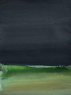 """Koen Lybaert; Watercolor 2013 Painting """"Eksjö"""""""