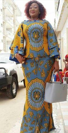 ecc494f71d1d 89 fantastiche immagini su Abito africano