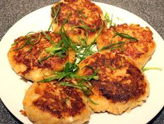Potato Cakes, Foodblogger, Tandoori Chicken, Ecuador, Allrecipes, Potatoes, Meat, Ethnic Recipes, Potato Latkes