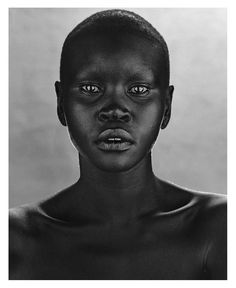 Then Alek Wek. South Sudanese super model and missionary for World Vision. First African model to appear on Elle and often took on the role as the bride in Lacroix.