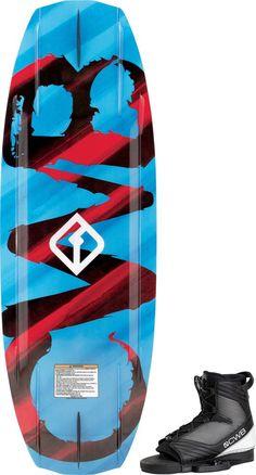 KTV 2018 Slingshot Wakeboard Bindings Medium Flex Wake Boots