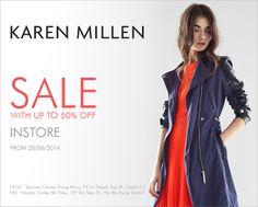 Khuyến mãi Karen Millen - Giảm giá lên đến 50%