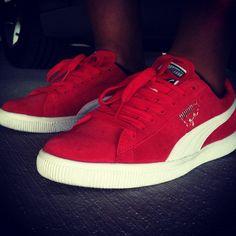 Red Puma Clydes