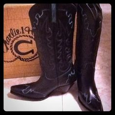 I just discovered this while shopping on Poshmark: REDUCEDNew Charlie Horse Black Boots-WINTER SEASON. Check it out!  Size: 8