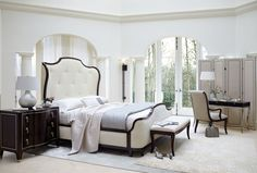 Miramont King Bedroom Group 4 by Bernhardt at Belfort Furniture Bedroom Furniture, Furniture Design, Bedroom Decor, Fine Furniture, Modern Bedroom, Classic Furniture, Contemporary Bedroom, Bedroom Ideas, Sleigh Bedroom Set