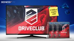 Sony PlayStation 4 - Exclusive Driveclub Sells 2 Million Copies