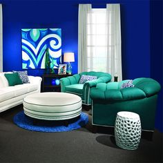 Genevieve Arm Chair ~ wow color