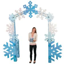 Create a magical entrance into a winter wonderland with our Winter Wonderland Arch! Use these winter wonderland decorations for a holiday party, as a prop for a holiday play or Christmas pageant, to s. Winter Wonderland Decorations, Winter Wonderland Theme, Winter Party Decorations, Winter Wonderland Christmas Party, Decoration Party, Christmas Decorations, Christmas Treats, Christmas Games, Christmas Pageant