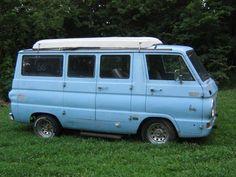$1,000.00 - 1966 Dodge A100 Sportsman - RARE!haha perfect
