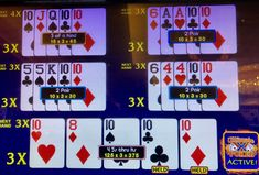 Chances of catching quads holding a pair are one in 360. Here, I also had a multiplier. Horseshoe Casino 7 April 2018.