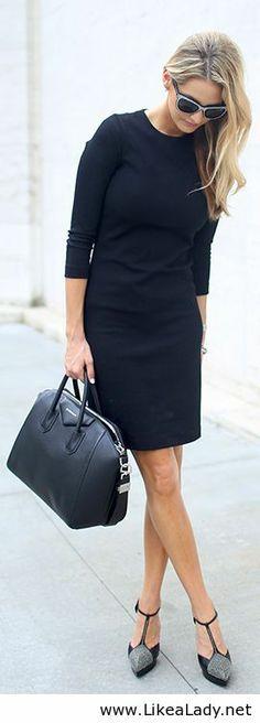 All black work style
