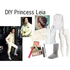 DIY Princess Leia - Hoth