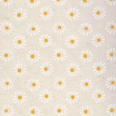 image-papier-nepalais-fantaisiefond-naturel-impression-de-marguerites-blanches-au-coeur-jaune Wallpaper Backgrounds, Wallpapers, Cellphone Wallpaper, Deco, Daisies, Japanese Paper, Impressionism, Yellow, Crafts