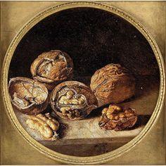 Antonio de Pereda - Bodegón con nueces
