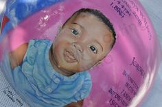 Hand painted portrait of Kylee on her belly cast.  Done by: Belly Casting by Leanna. Belly Casting, Trinidad, It Cast, Hand Painted, Portrait, Face, Headshot Photography, Portrait Paintings, The Face