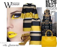 """""""Confident Woman"""" by styled-by-daniela-douk on Polyvore"""