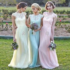 Find More Bridesmaid Dresses Information about New Long Crew Neckline Bridesmaid Dresses 2015 Formal Sheer Lace Top Long Bridesmaid Gown Party Dresses,High Quality dress shadow,China dress a dress Suppliers, Cheap dress long sleeve tunic dress from Hh-Dress on Aliexpress.com