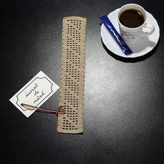 Semn de Carte din Dantelă 2 · HAV-A.ro crochet bookmark Cinnamon Sticks