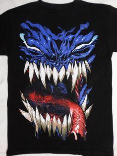 best authentic 35ae9 21f99 Venom Tongue Out Spider Man Marvel Comics T-Shirt  Venom  GraphicTee Venom  Face
