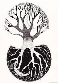 Image result for draw massive oak tree