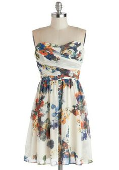 Illustrate the Obvious Dress, #ModCloth