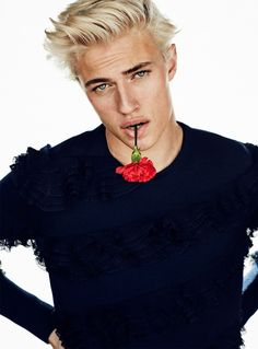 GQ STYLE TURKEY: Lucky Blue Smith by Sergi Pons